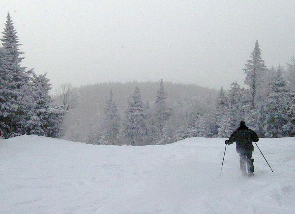 fresh snow on Chatiemac