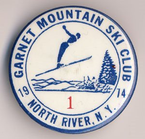 Garnet Mountain Pin