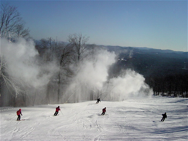 Snowguns on Twister