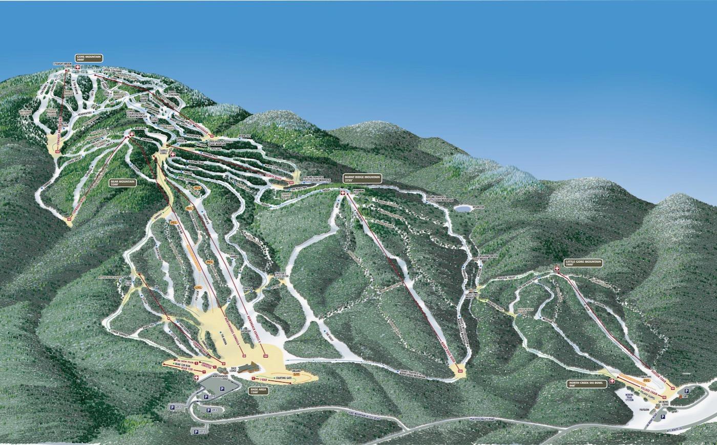 Gore Mountain lifts