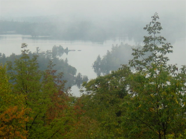 View from the Adirondack Museum