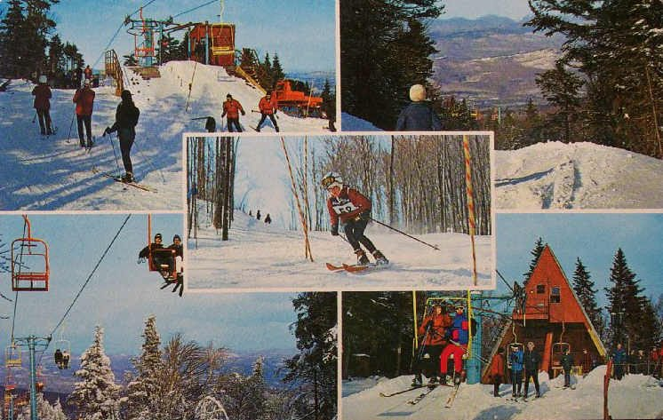 Gore Mountain Postcard 1968