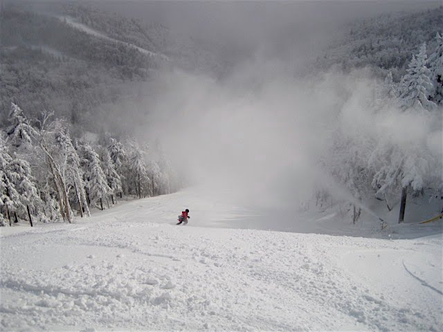 snowmaking on Lies