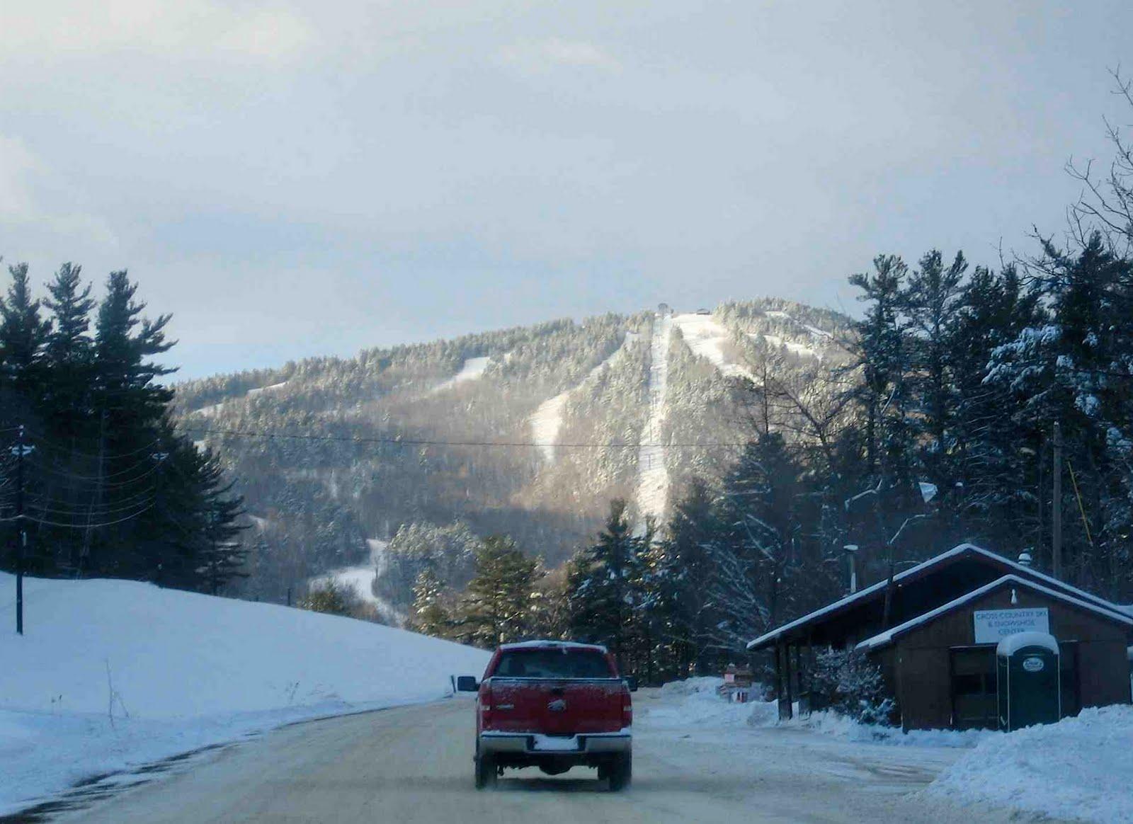 Gunstock Mountain Road.