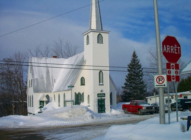 Anglican Church in Austin, Quebec