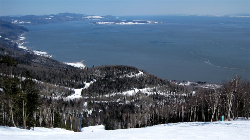 River Views from Le Massif de Charlevoix