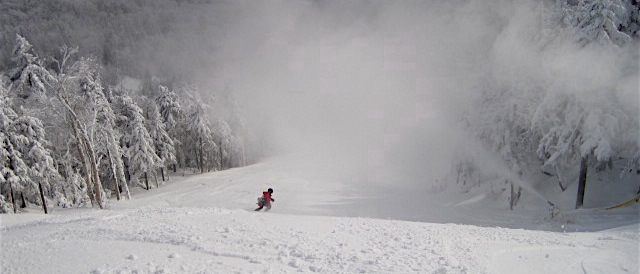 Snowmaking at Gore