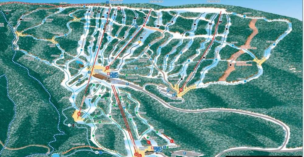 belleayre-trail-map