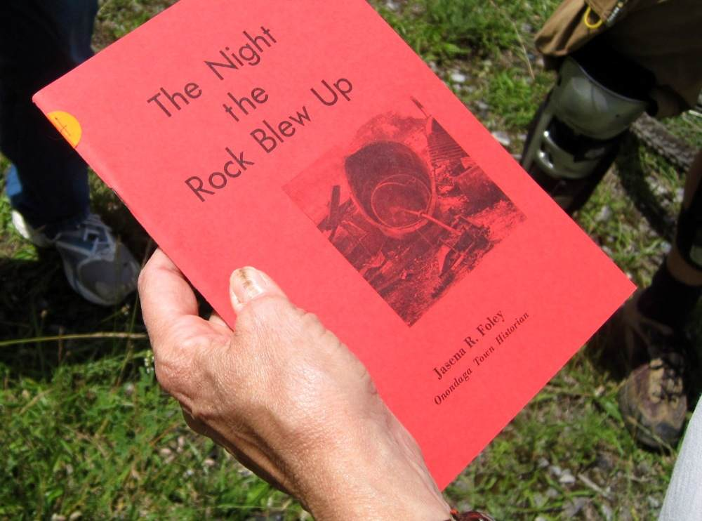 Book on the Split Rock Quarry explosion