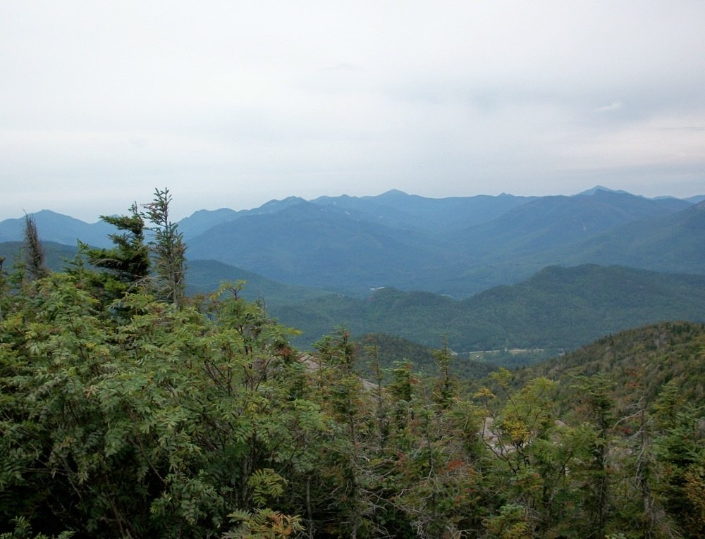 The High Peaks from Hurricane