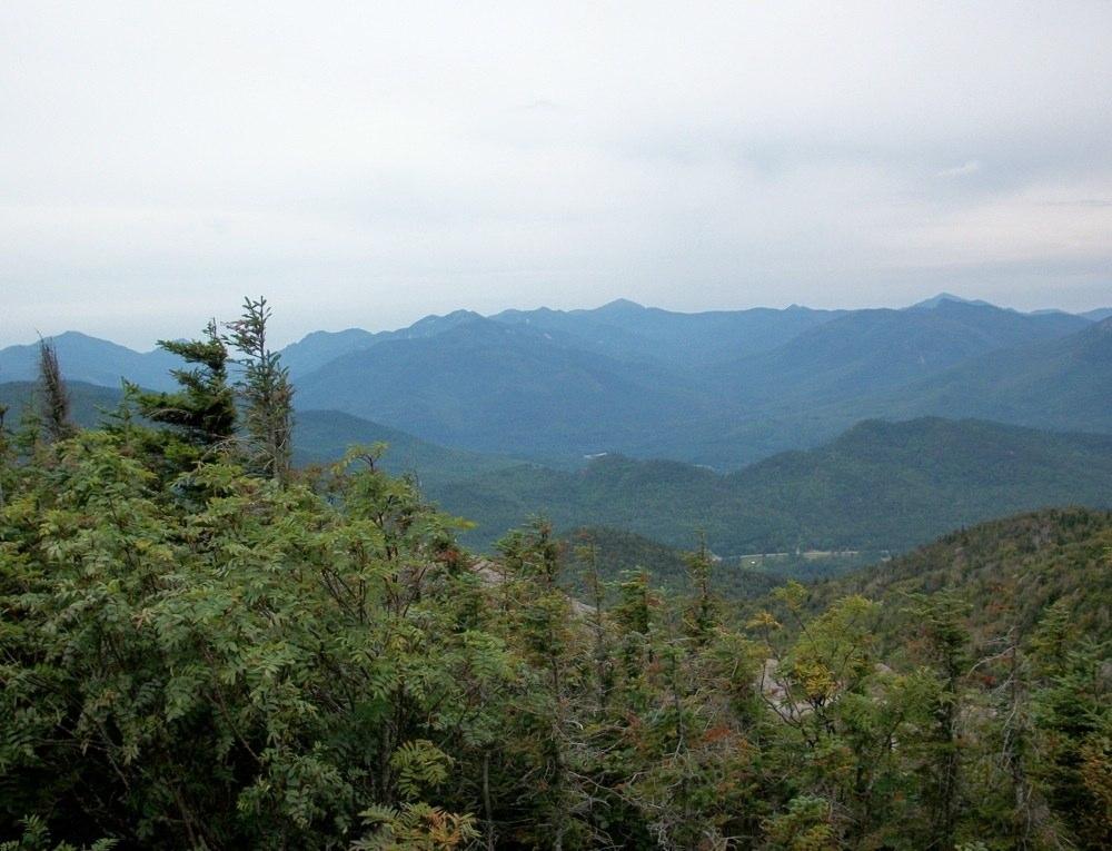 The High Peaks from Hurricane