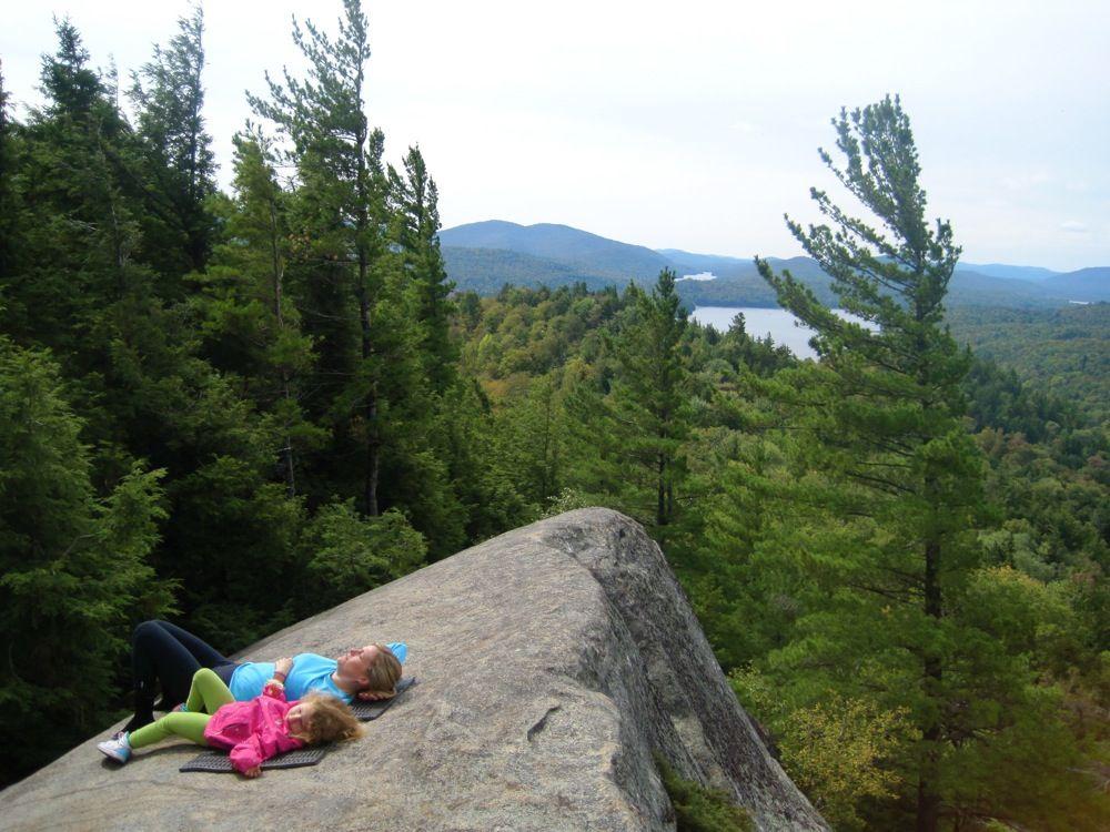 Sunbathing on Watch Hill