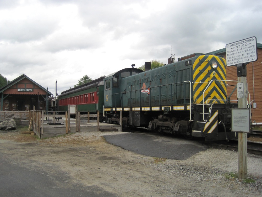 Upper Hudson Railroad Locomotive