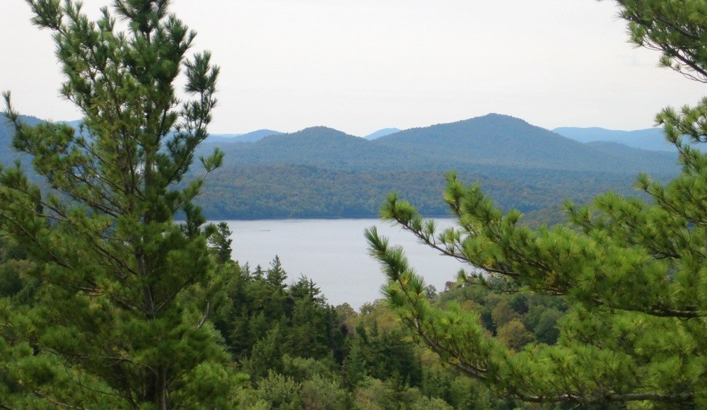 View from Watch Hill Indian Lake NY