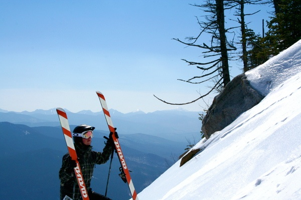 earning turns at whiteface