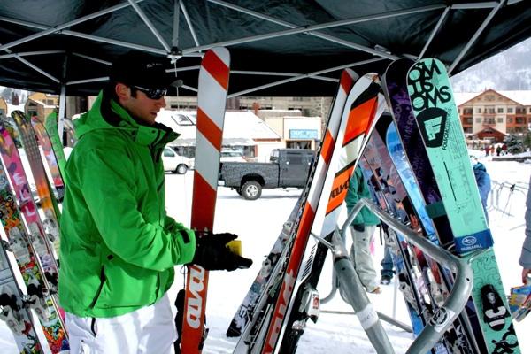 Freeskier Magazine Ski Test, Copper Mountain CO, 2010