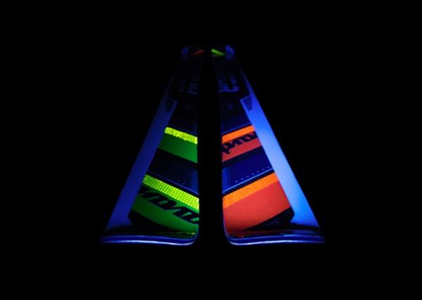 Avant's reflective neon inserts