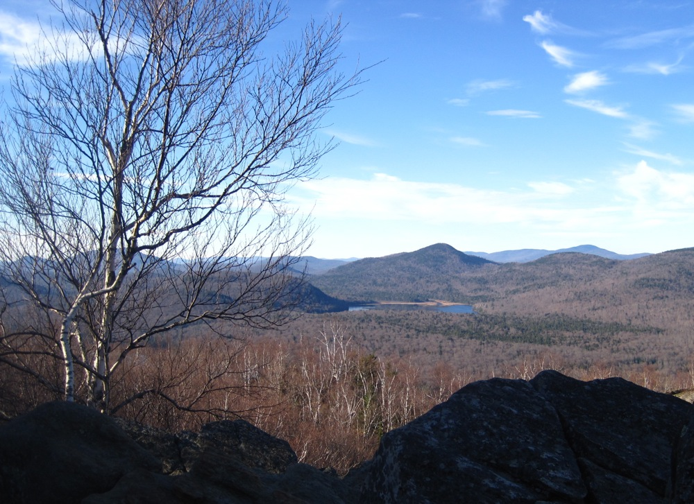Chimney Mountain view