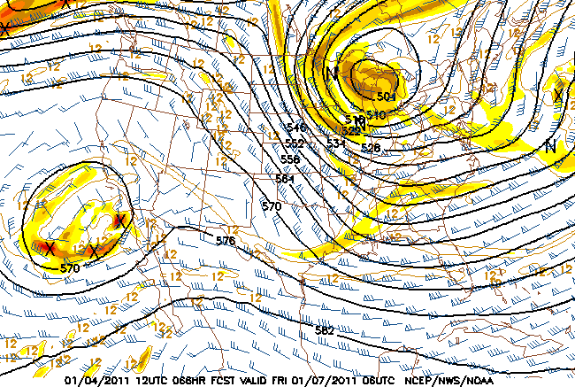 NAM 500mb at 66 hrs