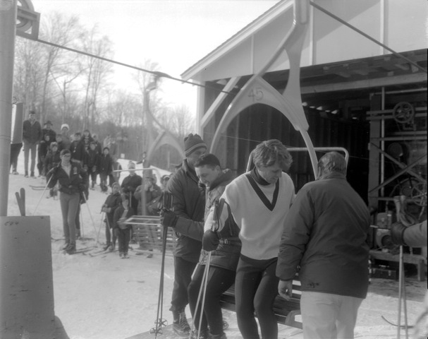 Bobby Kennedy skis Big Tupper