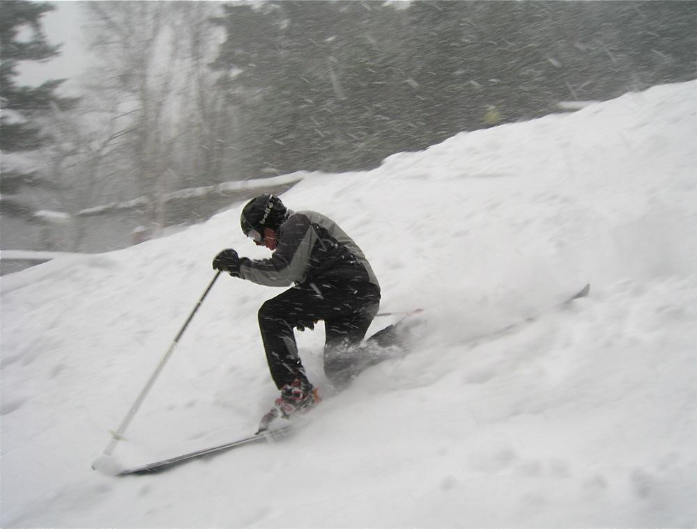 Big dump at Hickory Ski Center