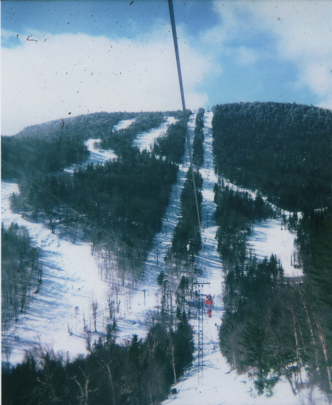 View from Gore's Old Gondola