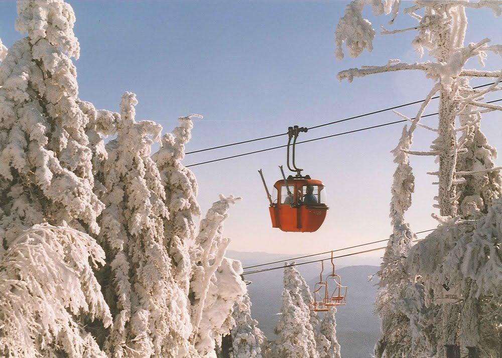 old red gondola