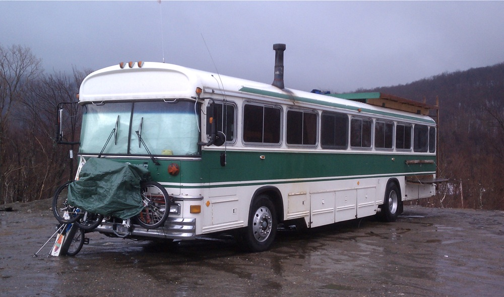 Bus Camper at Jay Peak