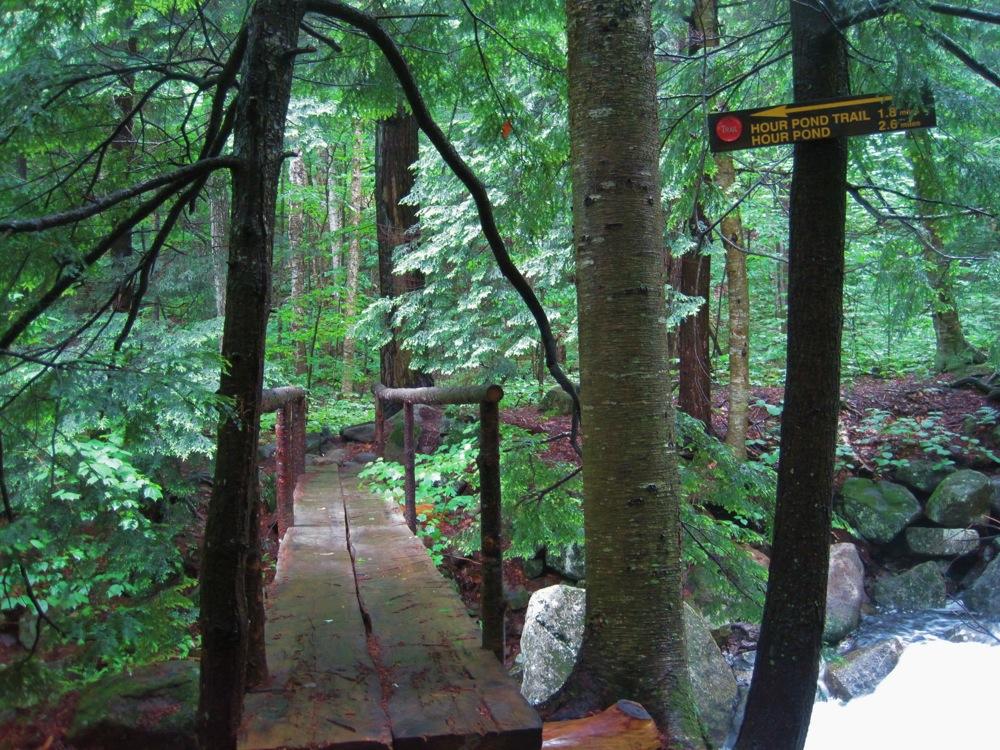 bridge over Peak Mountain Brook