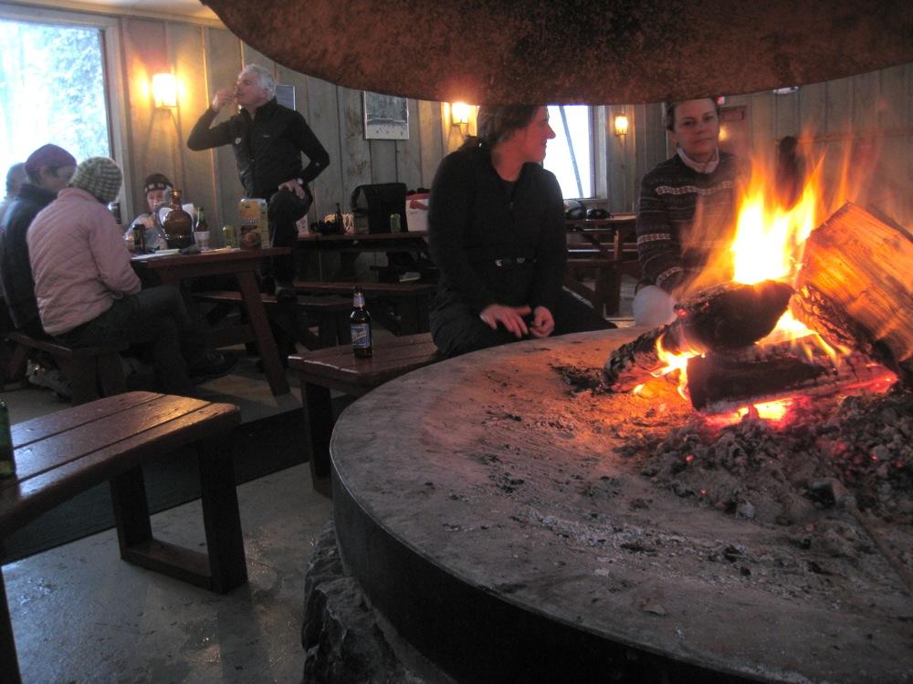 Hickory Ski Center Fireplace