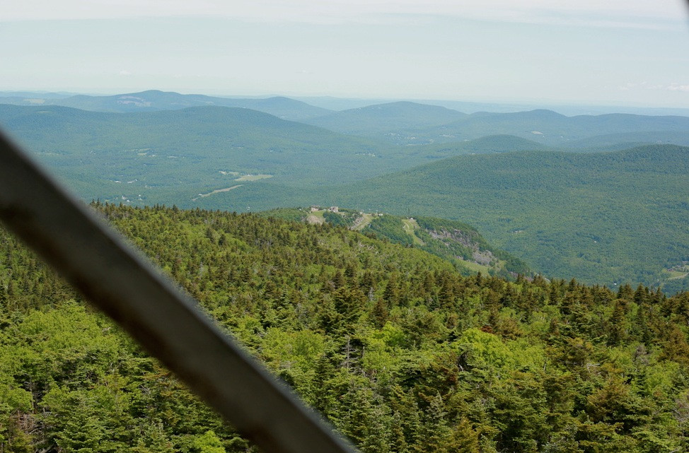 View from Hunter Mountain Firetower
