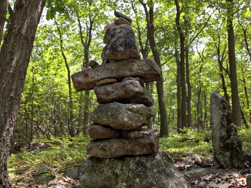 Harriman State Park cairns