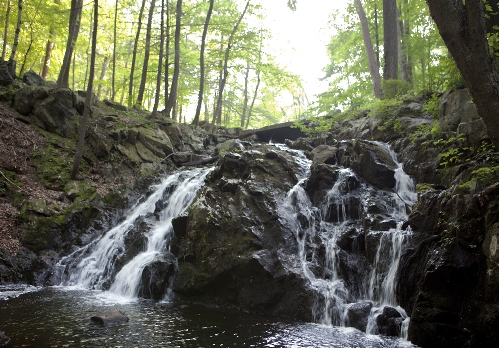Harriman State Park waterfalls