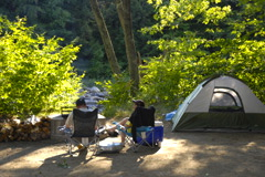 camping in Catskill Park