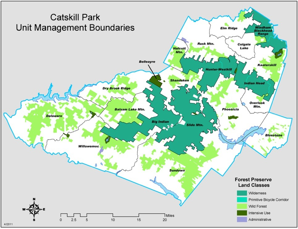 Catskill Park State Land Master Plan.