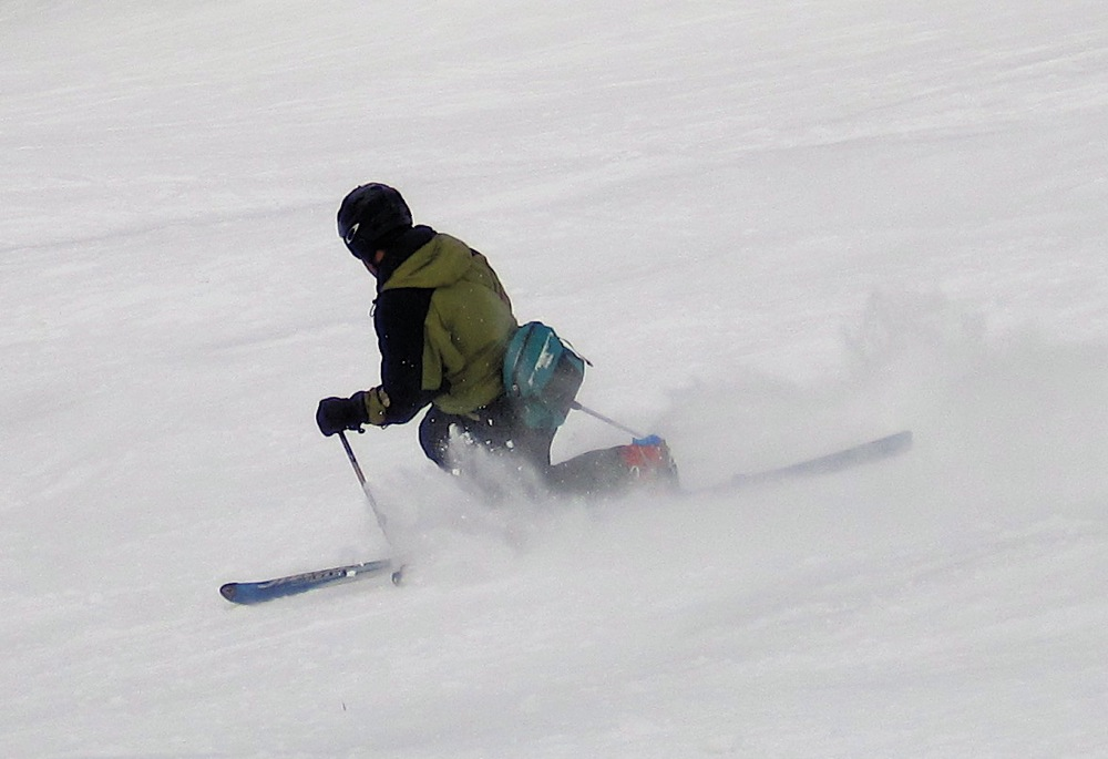 Teleskier at Hunter Mountain