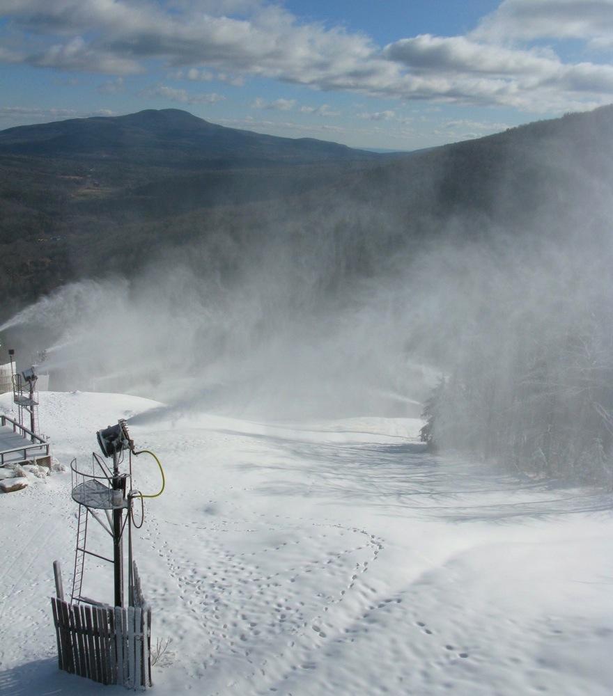 Hunter snowmaking