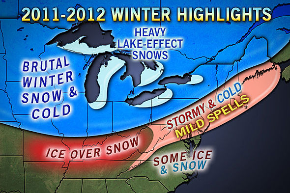 Accuweather Long Range Winter Forecast