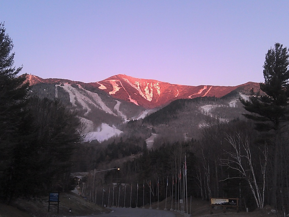 Early morning at Whiteface Mountain