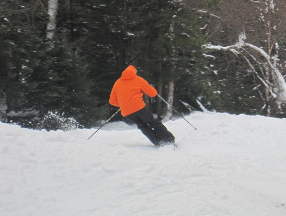 Skiing the Dark Side.