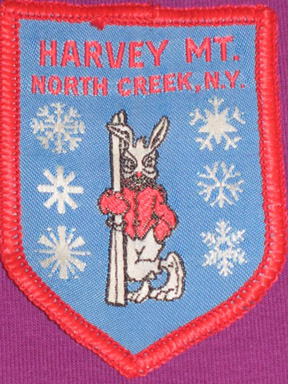 Harvey Mountain logo on patch