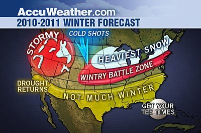 Joe Bastardi Winter Forecast 2010-2011