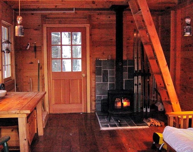 Our headquarters in the adirondacks ny ski blog for Small cabin interiors photos