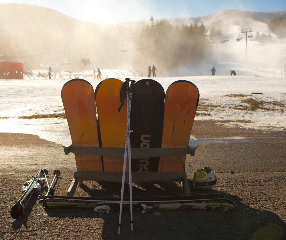 It's true, snowboards are more comfortable.
