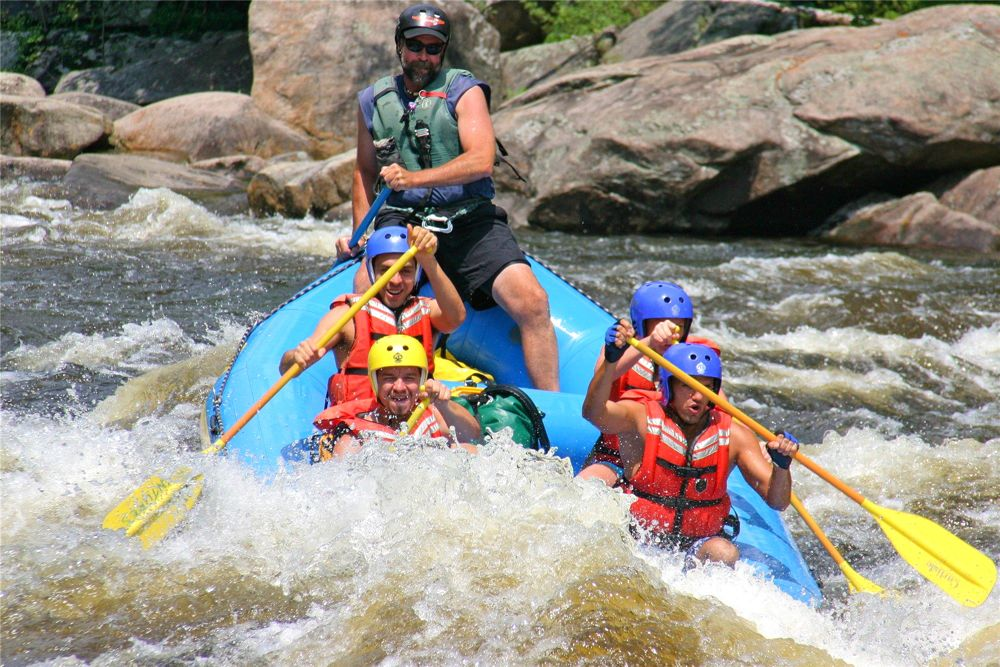 Adirondack Whitewater Rafting.