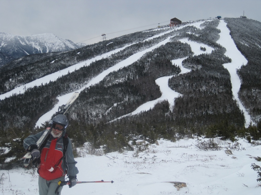 Hiking Mittersill at Cannon Mountain