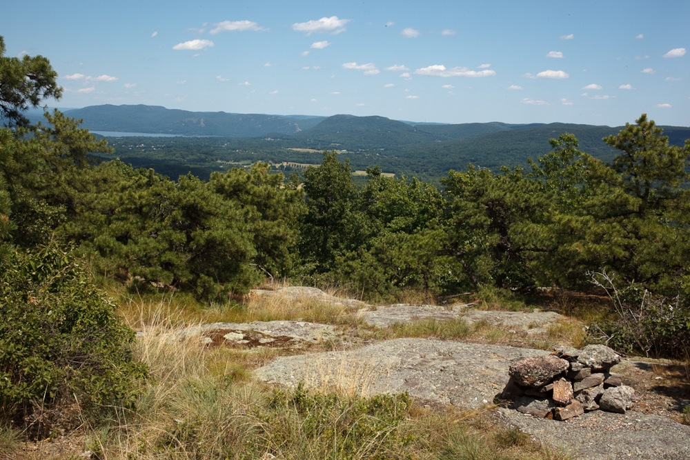 View of the Hudson from Schunemunk Mountain hike