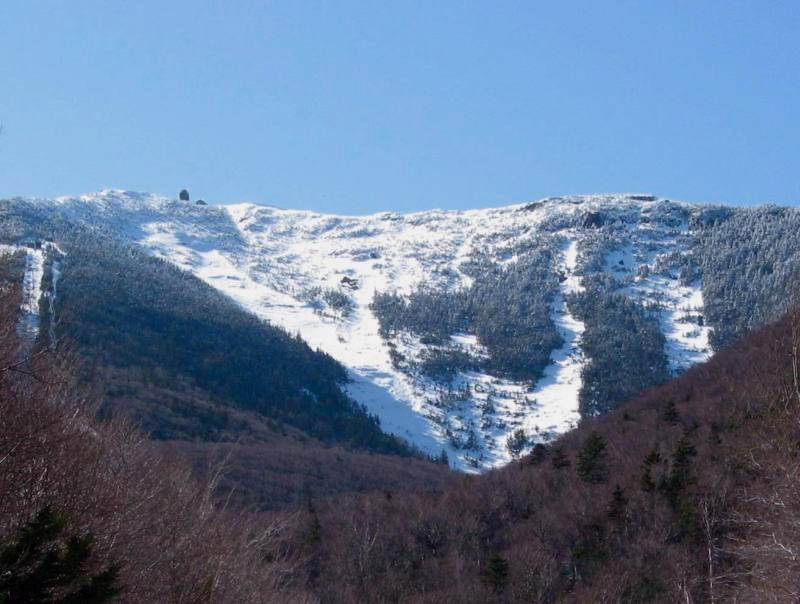 skiing Whiteface Slides