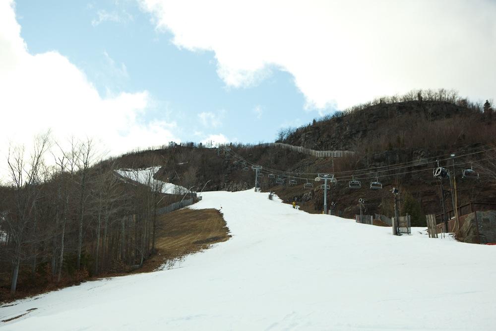 Hunter Mountain in December