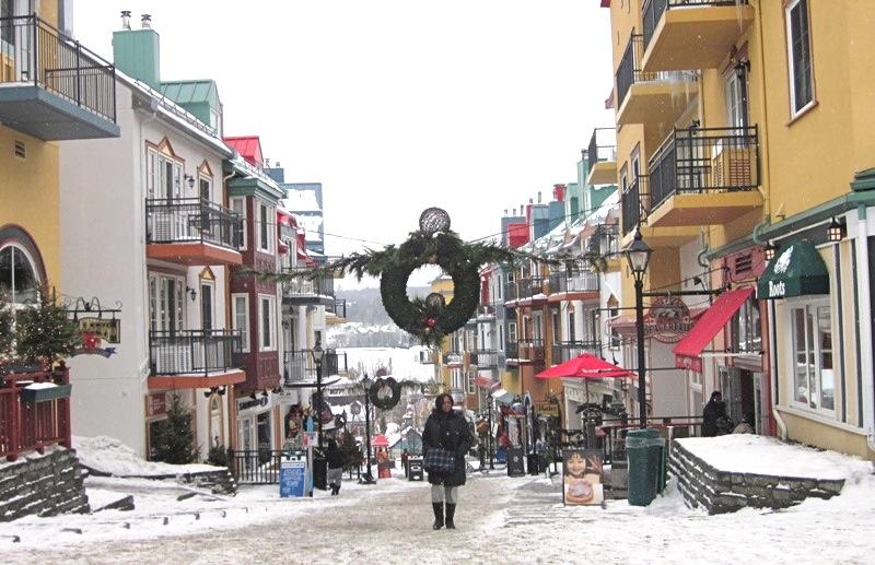 Tremblant Village, Quebec Laurentians